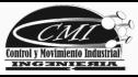 logo de Control y Movimiento Industrial