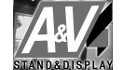 logo de A & V Stand & Display