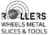 logo de Rollers Wheels Metal Slices And Tools